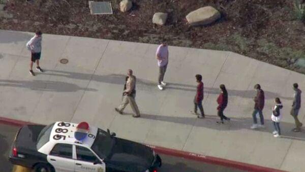 ABD'nin Kalifornia eyaletinde okul saldırısı - Sputnik Türkiye