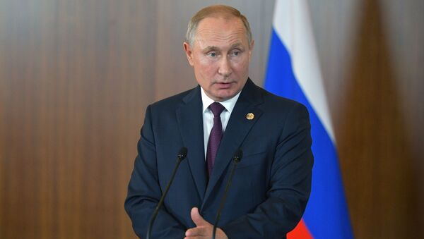 Vladimir Putin, BRICS Zirvesi - Sputnik Türkiye