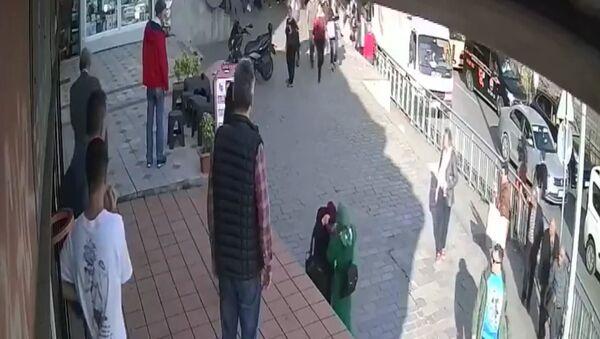 Karaköy'deki saldırı - Sputnik Türkiye