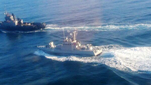 Kerç Boğazı'nı geçmeye çalışan Ukrayna donanmasından gemiler - Sputnik Türkiye