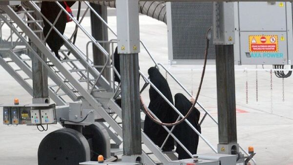 sınır dışı edilen IŞİD'liler, yabancı terörist savaşçı - Sputnik Türkiye