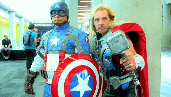 Marvel'den ABD'li siyasetçiye 'kahraman kostümlerimizi giymeyin' uyarısı - Sputnik Türkiye