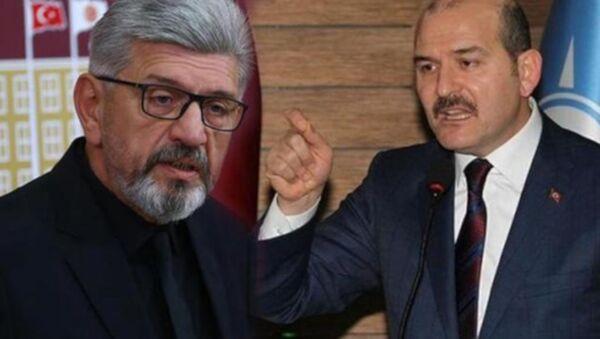 Saadet Partili Cihangir İslam ile İçişleri Bakanı Soylu - Sputnik Türkiye