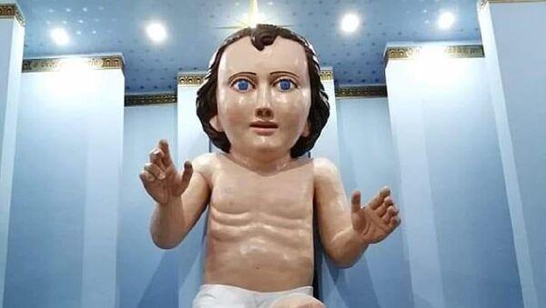 Çocuk İsa heykeli - Sputnik Türkiye