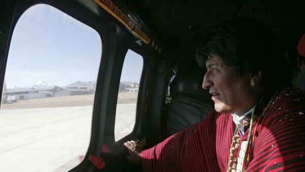 istifaya zorlanan Bolivya Devlet Başkanı Evo Morales - Sputnik Türkiye