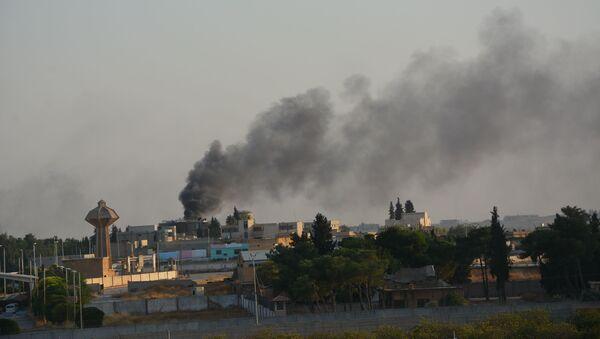 Tel Abyad'da patlama - Sputnik Türkiye