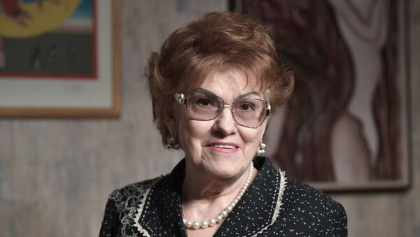 Rusya Eğitim Akademisi Onursal Başkanı ve Saint Petersburg Devlet Üniversitesi'nin eski Rektörü Lyudmila Verbitskaya - Sputnik Türkiye