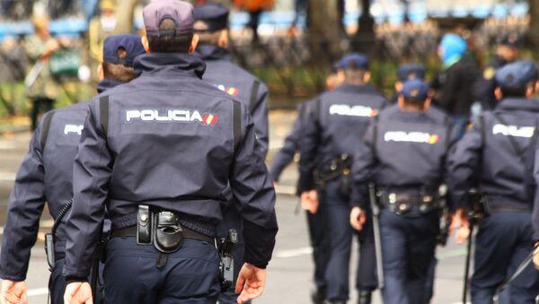 İspanya milli polisi - Sputnik Türkiye