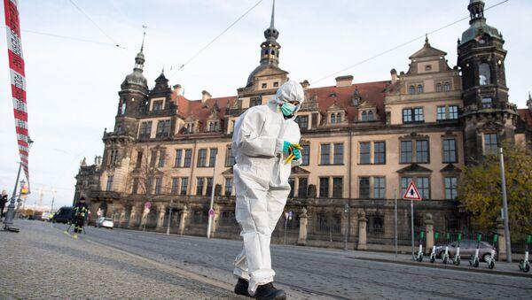 Almanya'nın Dresden kentindeki Grünes Gewölbe müzesi soyuldu. - Sputnik Türkiye