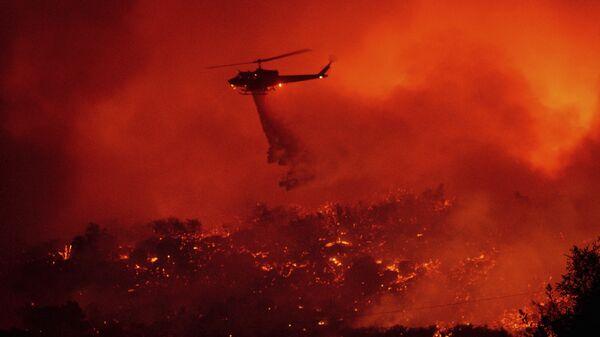 Kaliforniya, orman yangını - Sputnik Türkiye