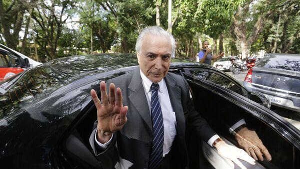 Brezilya'nın eski devlet başkanı Michel Temer - Sputnik Türkiye