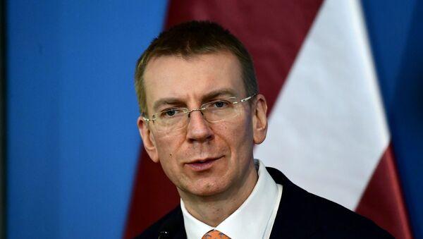 Letonya Dışişleri Bakanı Edgars Rinkevics - Sputnik Türkiye