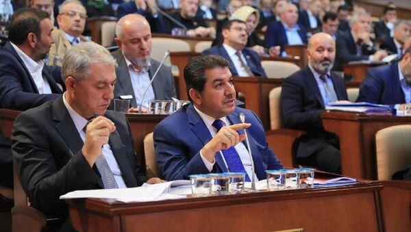 Esenler Belediye Başkanı ve İstanbul Büyükşehir Belediyesi AK Parti Grup Başkanvekili Mehmet Tevfik Göksu - Sputnik Türkiye