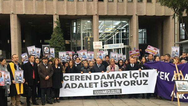 Ceren Damar davası - Sputnik Türkiye