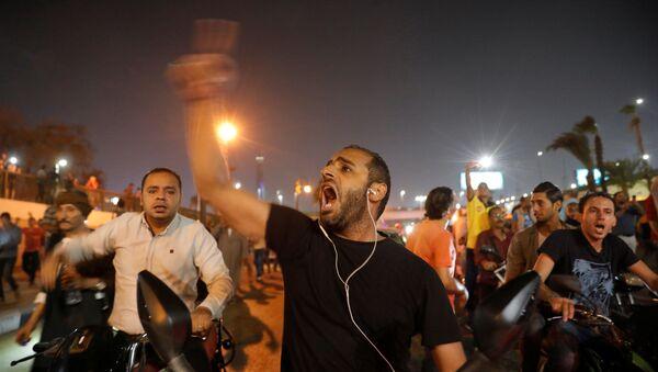 Mısır'daki gösteriler - Sputnik Türkiye