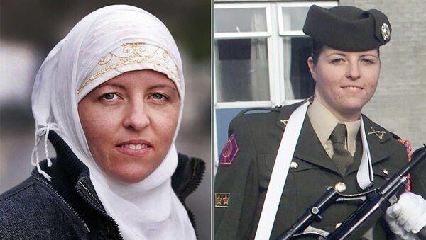 Eski İrlanda ordusu mensubu IŞİD'li Lisa Smith - Sputnik Türkiye