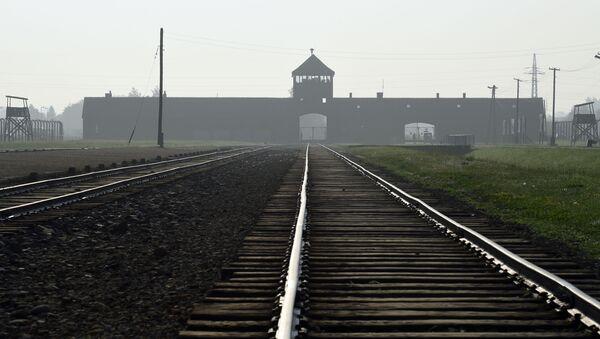 Auschwitz toplama kampı - Sputnik Türkiye