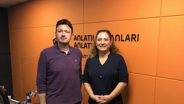 Serhat Sarısözen - Işık Elçi - Sputnik Türkiye