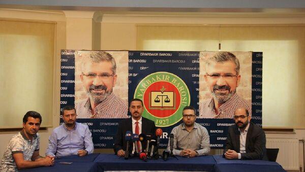 Diyarbakır Baro Başkanı ve yöneticilerine TCK 301'den dava - Sputnik Türkiye