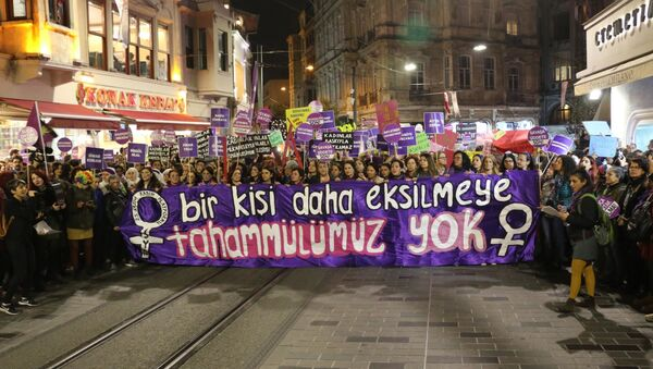 kadın cinayetleri - Sputnik Türkiye