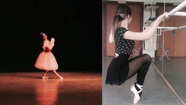 Genç balerin Ceren Özdemir - Sputnik Türkiye