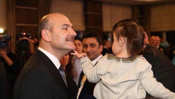 Süleyman Soylu, engelliler günü etkinliğinde - Sputnik Türkiye