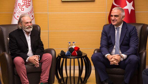 Haluk Bilginer - Mehmet Nuri Ersoy - Sputnik Türkiye