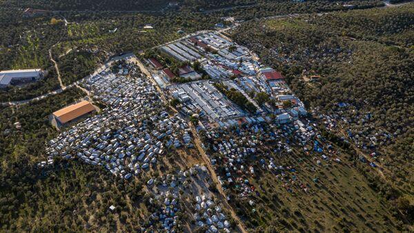 Yunanistan'daki üç mülteci kampı kapatılıyor - Sputnik Türkiye
