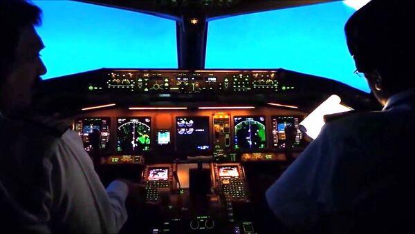 Uçak - kokpit - Sputnik Türkiye