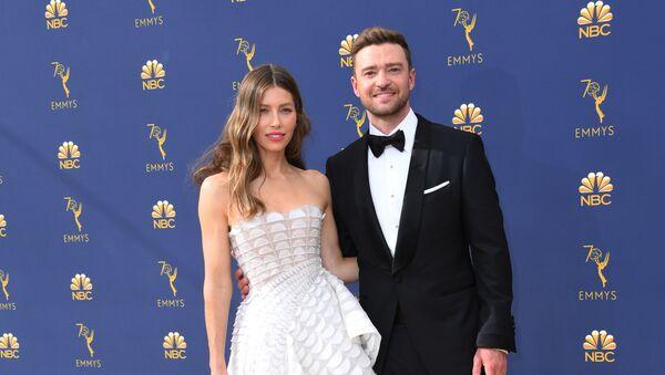 Jessica Biel- Justin Timberlake  - Sputnik Türkiye