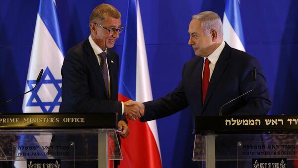 Netanyahu, Babis - Sputnik Türkiye