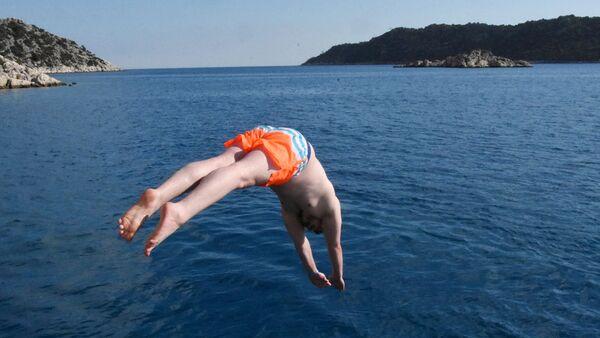 Demre'de yaz bitmiyor - Sputnik Türkiye