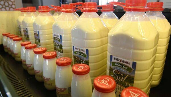 Ankara'da Halk Süt satışı başladı - Sputnik Türkiye