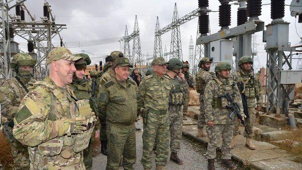 MSB, Tel Abyad, elektrik - Sputnik Türkiye