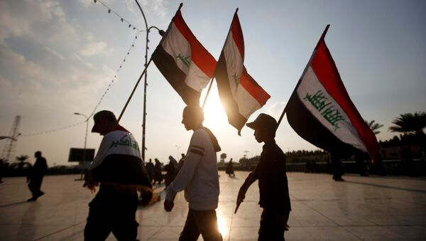 Irak - protestolar  - Sputnik Türkiye