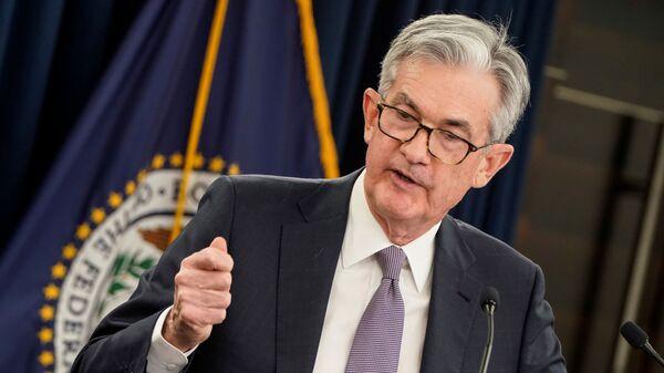 ABD Merkez Bankası (Fed) Başkanı JeromePowell - Sputnik Türkiye