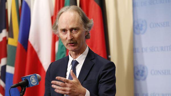 Birleşmiş Milletler (BM) Suriye Özel Temsilcisi Geir O. Pedersen - Sputnik Türkiye
