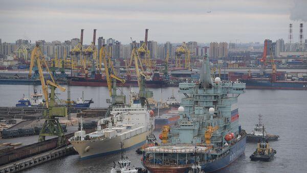 Rus buzkıran gemisi Arktika - Sputnik Türkiye