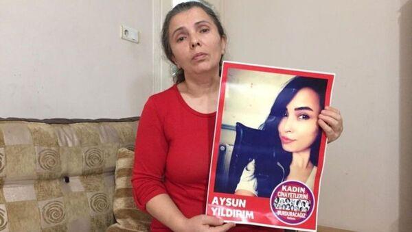 2018'de Sefaköy'de çalıştığı iş yerinin penceresinden düşerek ölen 26 yaşındaki Aysun Yıldırım - Sputnik Türkiye