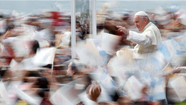 Katoliklerin ruhani lideri Papa Francis - Sputnik Türkiye