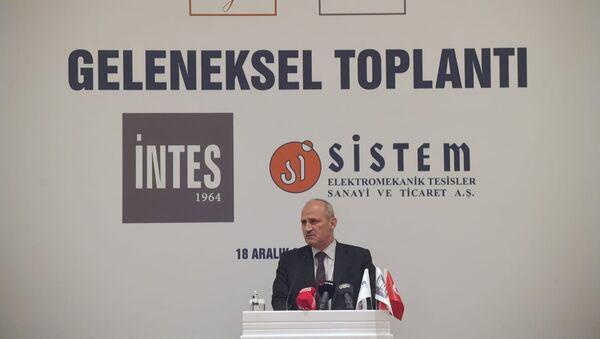 Ulaştırma ve Altyapı Bakanı Mehmet Cahit Turhan - Sputnik Türkiye