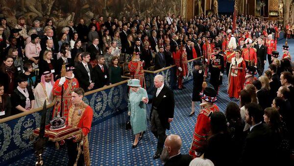 İngiliz Parlamentosu'nda yeni yasama yılı açıldı - Sputnik Türkiye