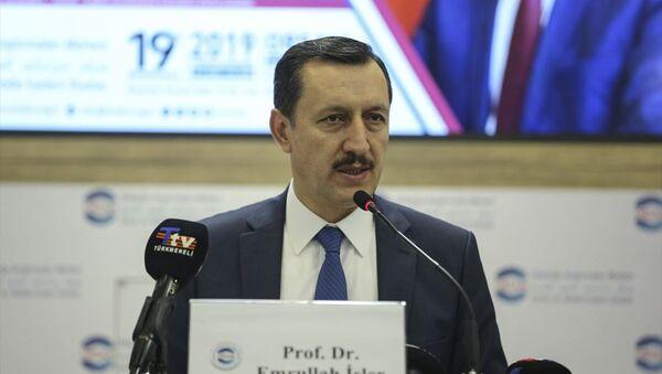 Türkiye'nin Libya Özel Temsilcisi ve AK Parti Ankara Milletvekili Emrullah İşler - Sputnik Türkiye
