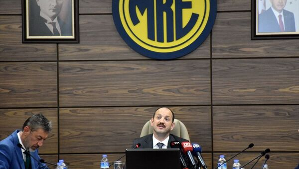 Makina ve Kimya Endüstrisi Kurumu (MKEK) Genel Müdürü Yasin Akdere - Sputnik Türkiye