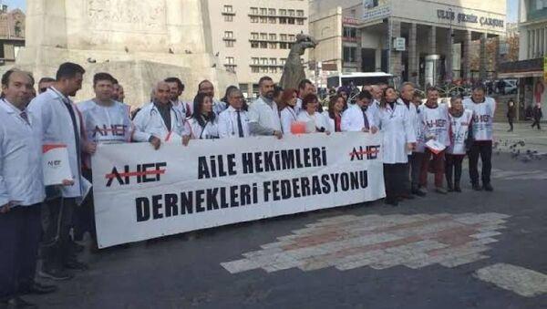 AHEF: Gelirimiz yüzde 40 eridi, şiddet yüzde 168 arttı - Sputnik Türkiye