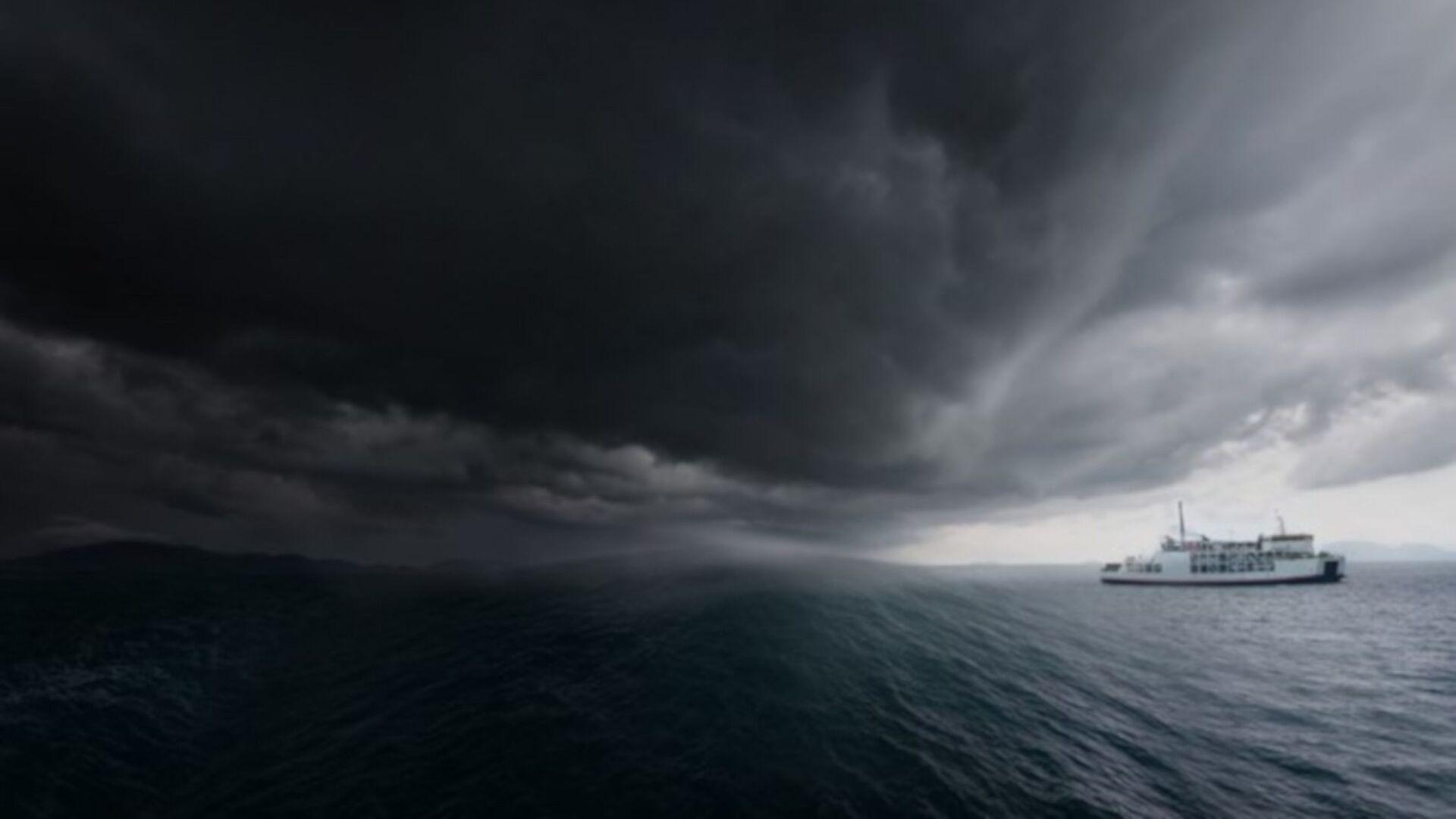 Fırtına, deniz hatları - Sputnik Türkiye, 1920, 14.10.2021