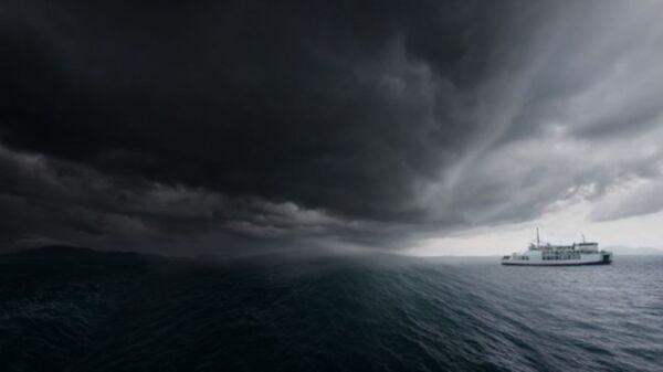 Fırtına, deniz hatları - Sputnik Türkiye