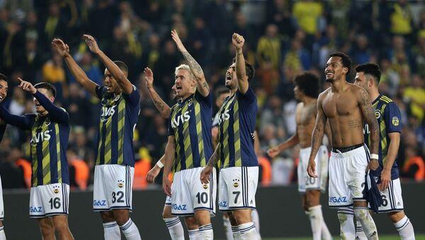 Fenerbahçe, Süper Lig'in 16. haftasında Beşiktaş ile karşılaştı. - Sputnik Türkiye
