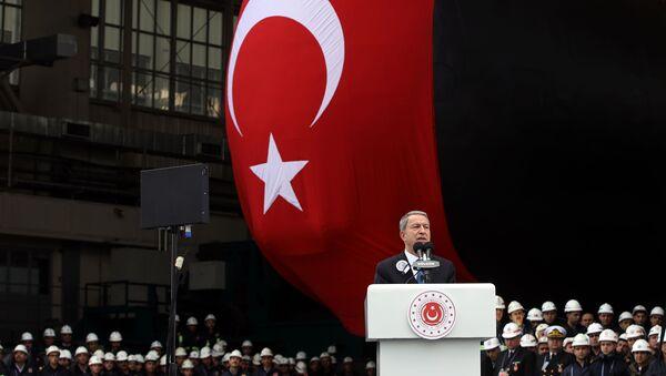 Türkiye'nin yeni denizaltısı  - Sputnik Türkiye