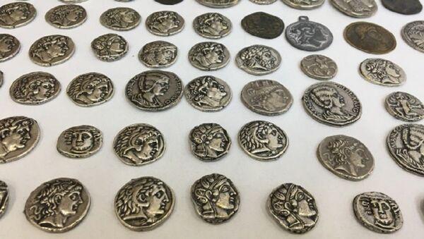 Bizans dönemi, sikke - Sputnik Türkiye